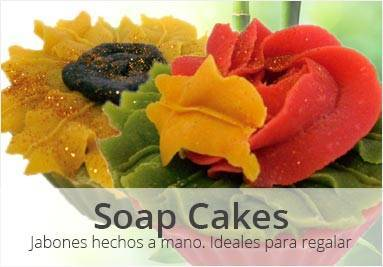 Soap flowers - Jabones para regalar